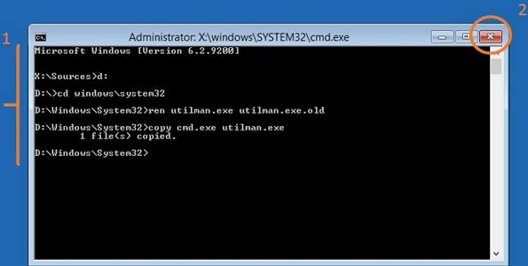how to change password in windows 7 if you forgot it