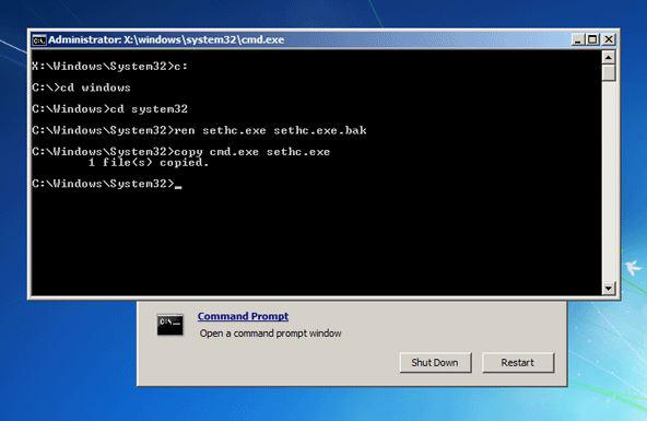 how to remove windows xp password without any software