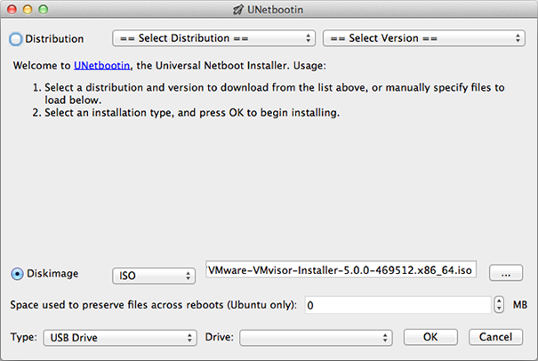 make bootable windows on Mac with UNetbootin