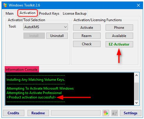 activator windows 10 professional - kms-auto activation