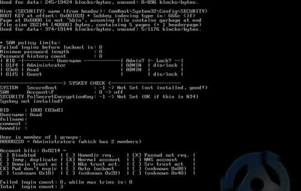 cara reset password windows 7 safe mode