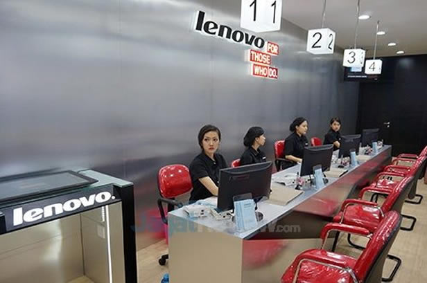Consult the Nearest Lenovo Service Centre